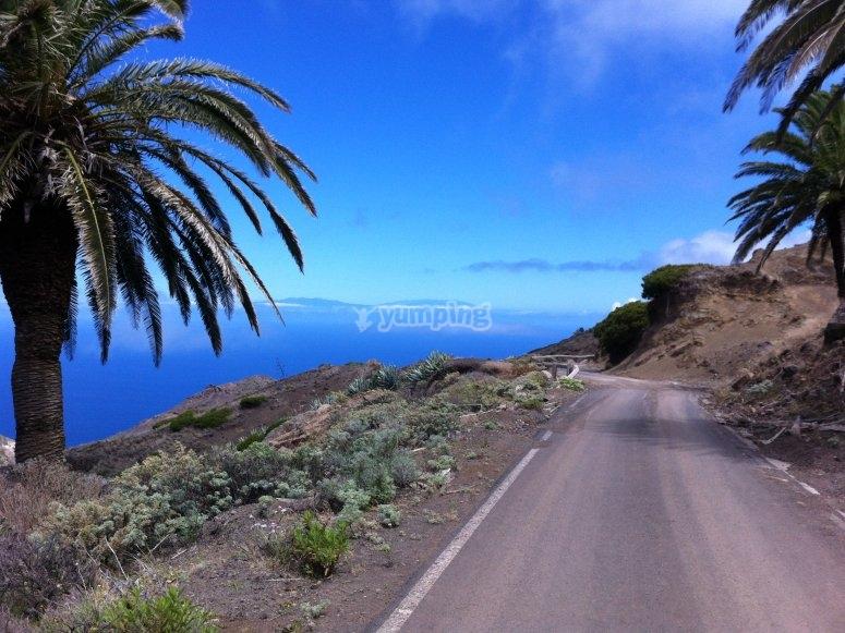La Gomera的道路