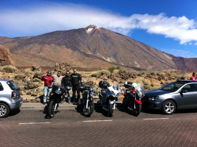 Motorbike Ride Teide and Los Gigantes