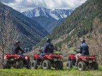 Subidos a los quads en Ordino