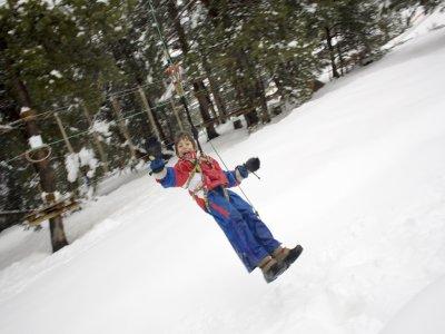 Circuito Multiadventure per bambini a La Molina