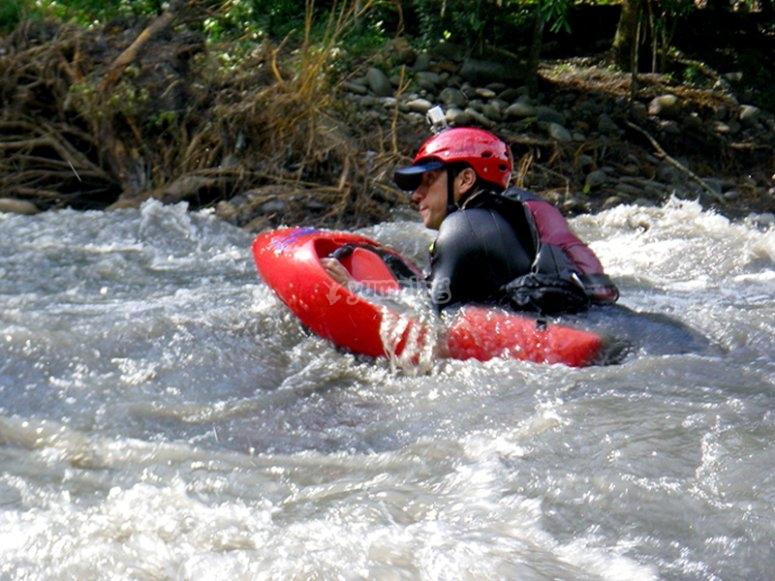 Excursión con hidrospeed