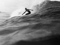 surf in bianco e nero