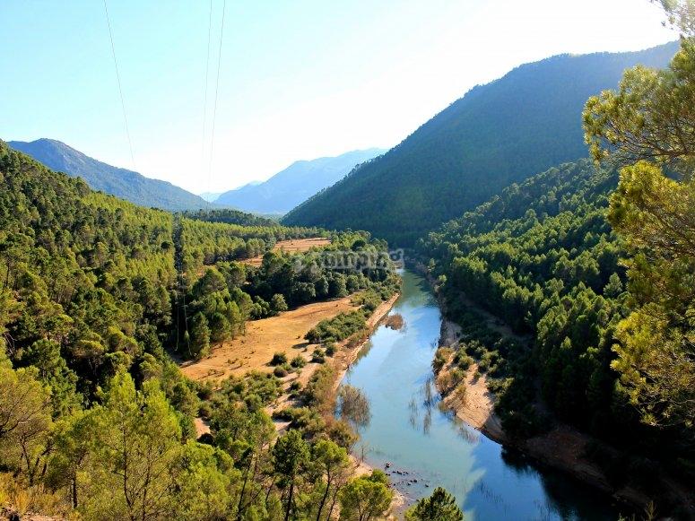Landscape of Sierra de Cazorla