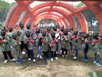 Paintball con estrategia