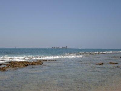 Día de pesca en barco por costas de Chiclana
