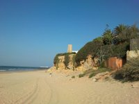 加的斯迷人的海滩