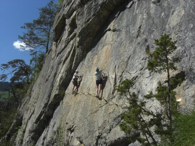 Via Ferrata in Hoz de Priego, 2 hours