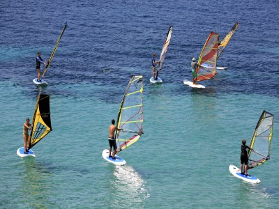 Corso di windsurf Reservoir Entrepeñas 7 ore