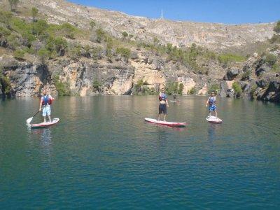 瓜达拉哈拉的单独划桨冲浪课程