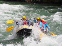 Rafting e sistemazione per addii al celibato in Sort