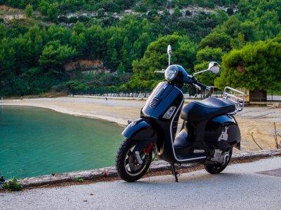 Alquiler de moto en Formentera por horas
