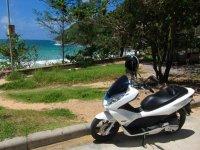 Alquilar una moto en Benidorm por un día