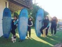 Curso de inciación al surf en El Palmar