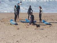 Iniciación al surf en El Palmar durante 10 horas