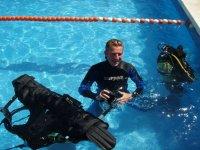 设施游泳池回顾学生潜水装备