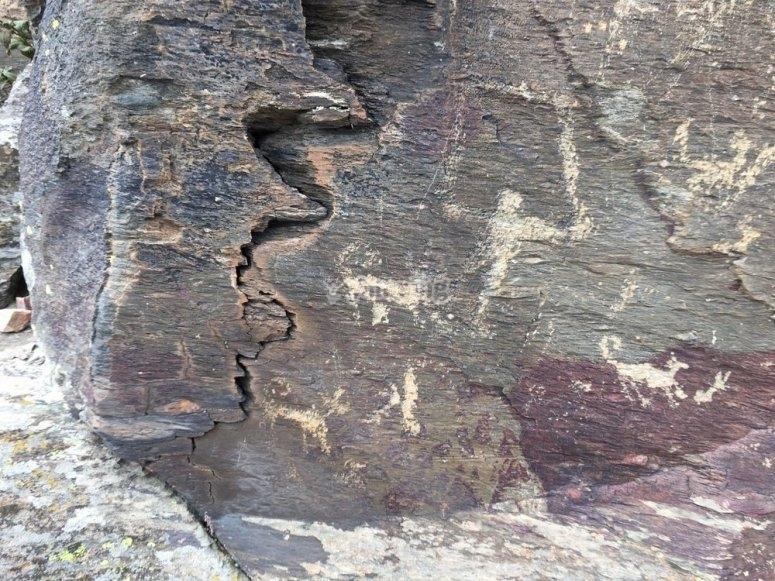 Grabados en las rocas