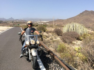 Motorcycle tour through Tenerife for 2