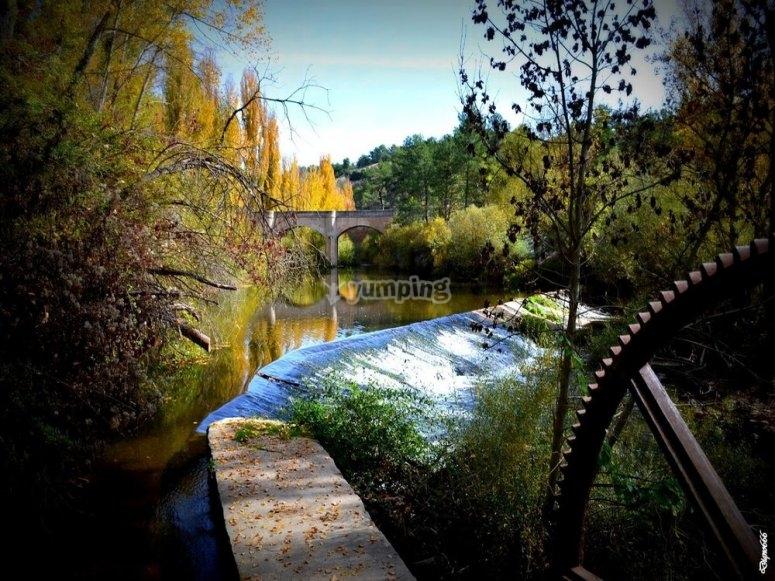 Ruta del agua en Costanzana