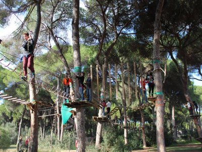 Multi-adventure Park Bollulos Ticket 4 hours
