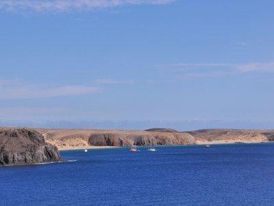 兰萨罗特岛的帆船租赁2小时