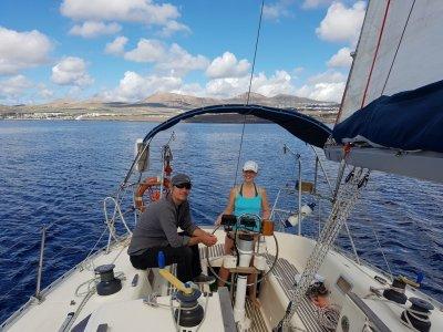 Charter privado Lanzarote sureste 4 horas