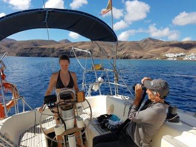 Alquilar un barco en Lanzarote 6 horas