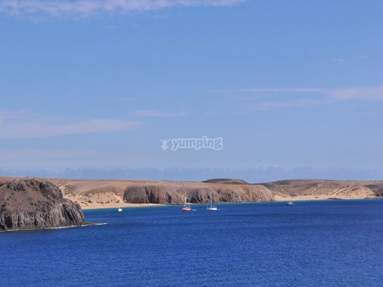 兰萨罗特岛令人印象深刻的景色