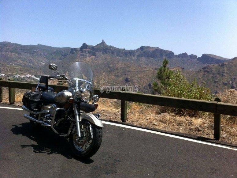 Percorso motociclistico nelle Isole Canarie
