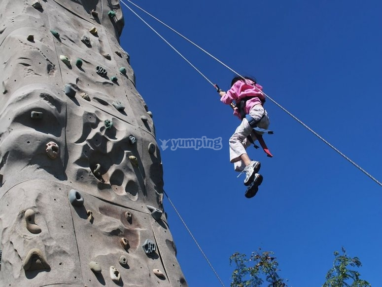 Rocodromo para escalar