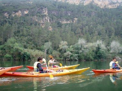 Paseo canoa río Ebro y visita al parque Niños 2 h