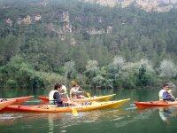 Navegando por el rio Ebro