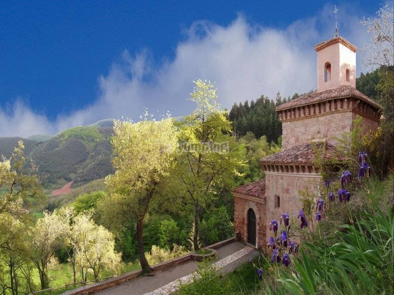 The monastery of Suso