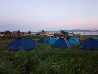 Campeggio all'aperto