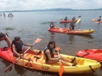 Studenti in canoa