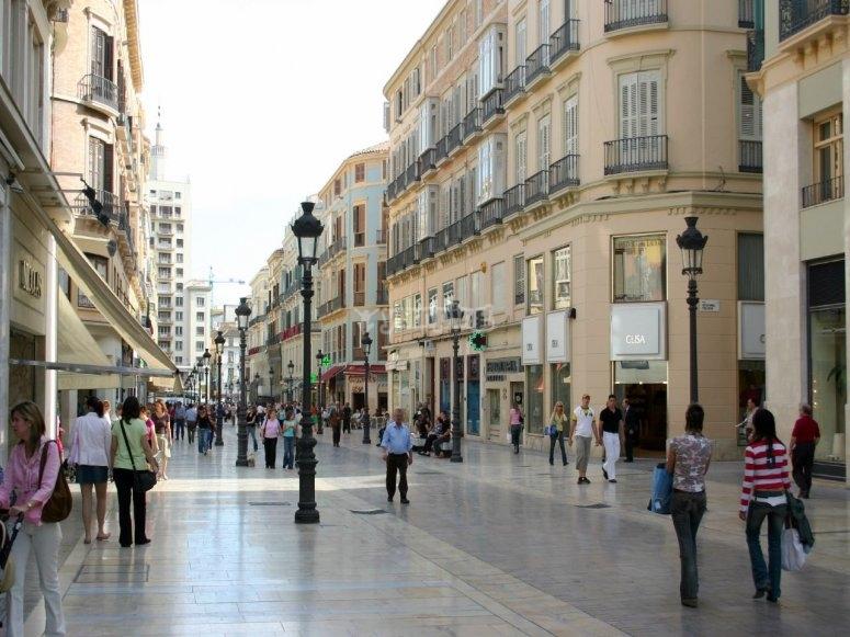 Centro urbano de Malaga