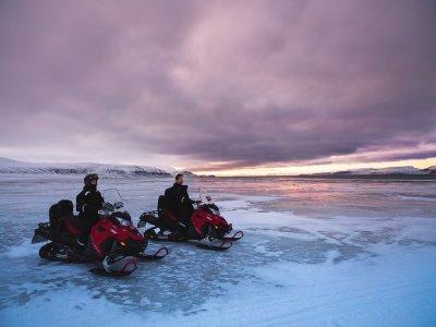 Moto nieve individual en Ampriu 20 minutos