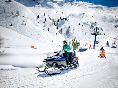 20-Minute Snowmobile Ride for 2 in Ampriu
