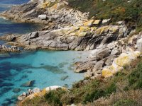 Cliff in the Cies Islands