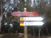 Indicador de rutas en Tenerife