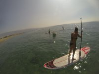 Ruta de paddle surf en Roquetas