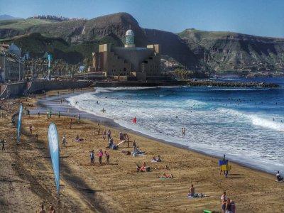 踏板车乘坐大加那利岛1天