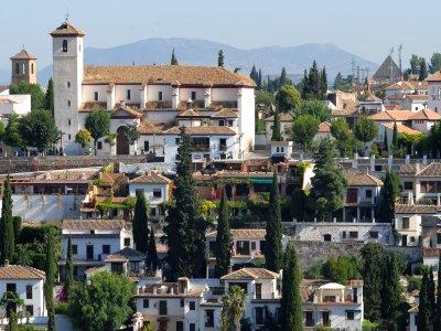 Giro in moto a Granada 1 giorno
