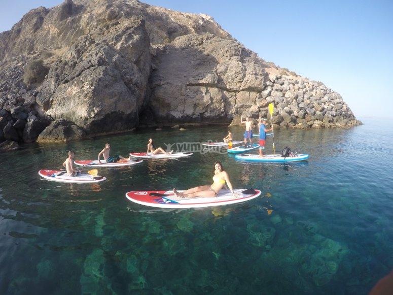 Paddle surf en Almeria