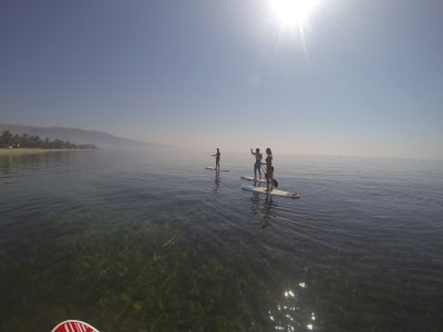2 hours SUP tour in Roquetas de Mar, Almería