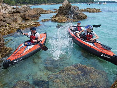 Noleggio di kayak 2 posti ad Almería 1 ora