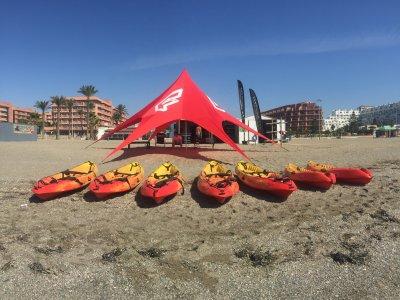 Alquilar kayak doble en Roquetas de Mar 2 horas