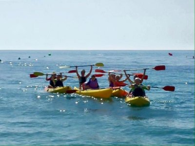 Canoeing in Almería 1 hour