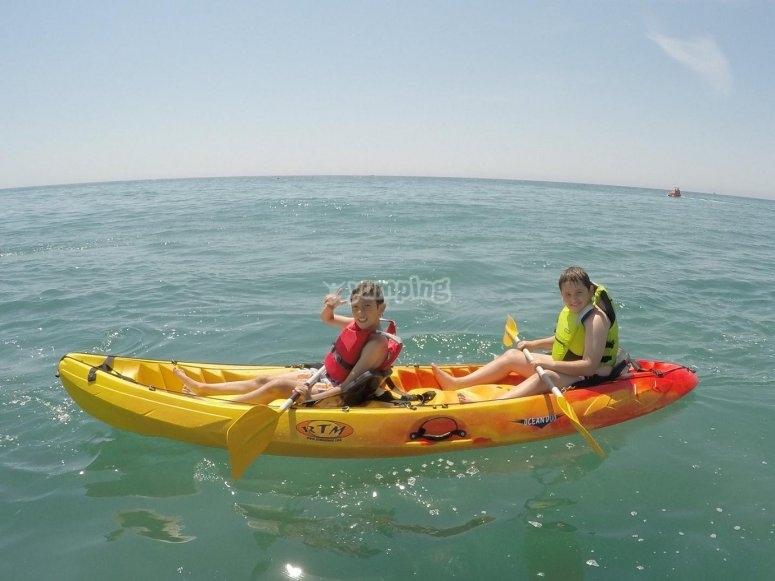 Prueba nuestros kayaks