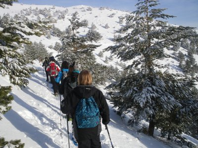 Mirua Actividades de Naturaleza Raquetas de Nieve