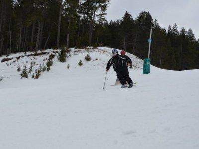 Lección de esquí en La Masella 2 horas
